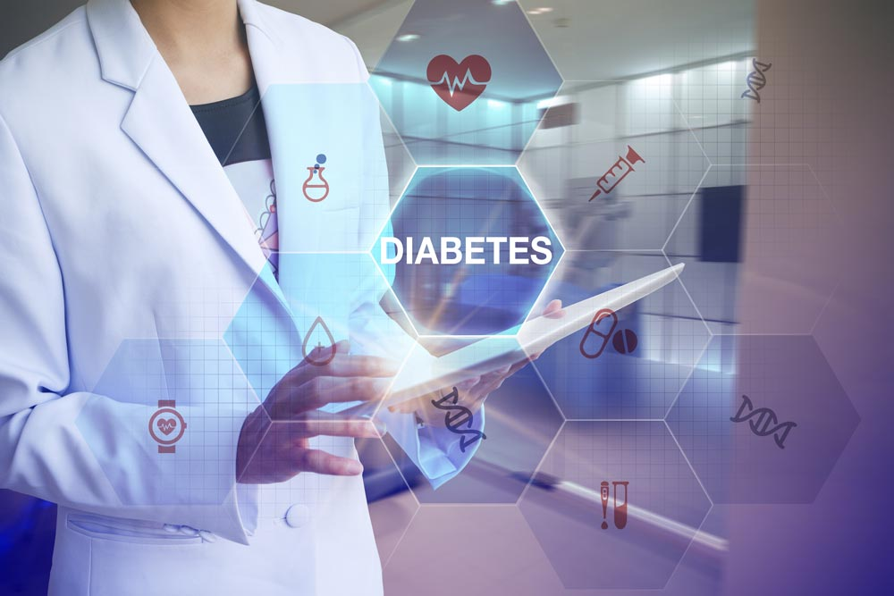 Support for secure sharing of diabetes data